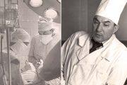 Николай Алимов (за хирургическим столом и в кабинете)