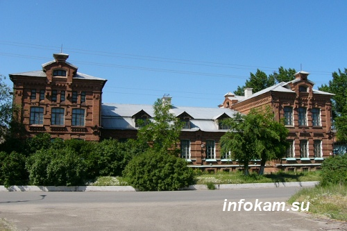 Камышин. Бывший акцизный водочный завод