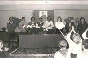 Делегация из Индии в школе № 7 (Камышин, 1987 год)
