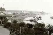 Вид на Волгу и пристани у Камышина (начало XX века)