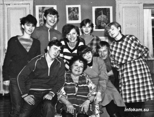 Фото на память. Мастер и его ученики