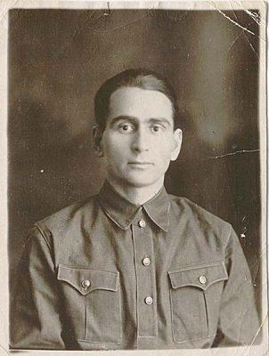 С. Ф. Таранов, автор дневника, в годы войны