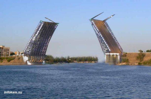 Эскиз будущего моста (от 1 апреля 2021 года)