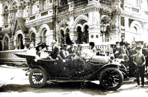 Первый автомобиль в Камышине. 1912 год