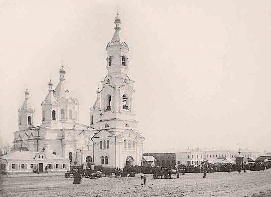Камышин. Вознесенский собор. Разобран на кирпичи в 1935-36 годах