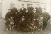 Сотрудники уголовного розыска Камышинской рабоче-крестьянской милиции (1920 годы)