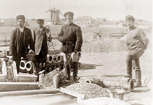 Камышин. Строительство водоканала (1896 год)