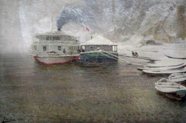 "Яков Вебер. ""Последний рейс"". 1930 год"