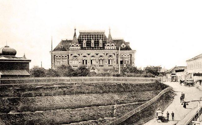 Камышин. Земский дом (начало XX века)