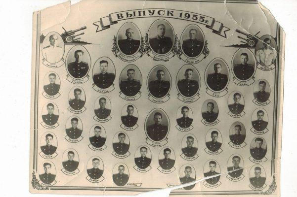 Выпуск Камышинского артиллерийского технического училища 1955 года