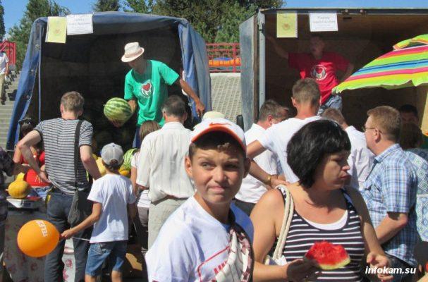 На Камышинском арбузном фестивале