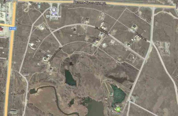 Жилой комплекс в районе пляжа Гремячий обретает очертания (Яндекс-карта)