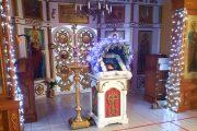 В камышинском храме святого Димитрия Солунского