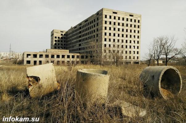 "Недостроенная больница ""на дамбе"""