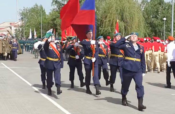 Парад Победы в Камышине