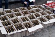 Изъятая алкогольная продукция