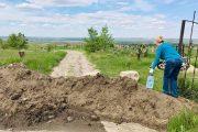 Подъезд с грунтовой дороги к кладбищу (фото Натальи Коваленко)