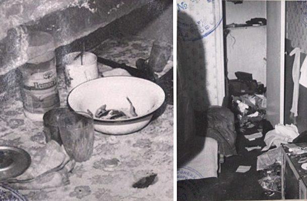 На месте преступления (из материалов уголовного дела, 2000 год)
