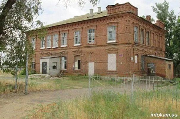 Камышин. Земская школа, 1906 года постройки