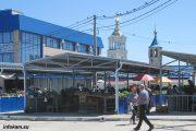 На центральном рынке Камышина
