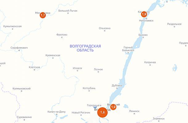 Скриншот карты самоизоляции Яндекса (7 мая)