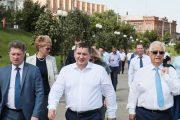 Губернатор Андрей Бочаров в Камышине (пресс-служба администрации Волгоградской области)