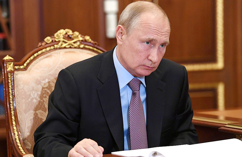 Владимир Путин (сайт президента страны)