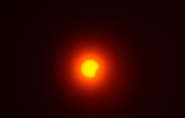 Солнечное затмение 21 июня 2020 года (фотография Юлии Карпенко)