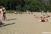 На пляже в Камышине