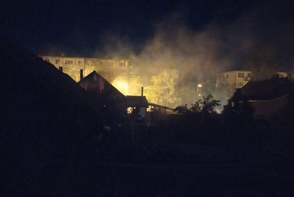 Пожар на улице Циолковского