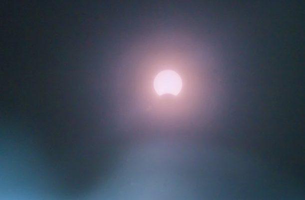 Солнечное затмение 21 июня 2020 года (фотография Александра Германова)