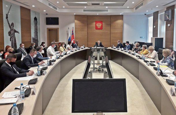 На заседании Волгограсдкой областной Думы