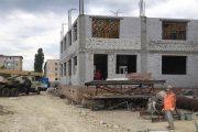 На стройке нового детского сада в Камышине