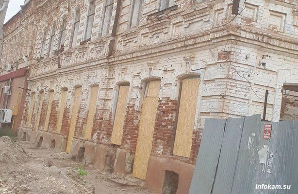 Дом Лихтенвальда готовится к реставрации (фото Александр Куфтырев)