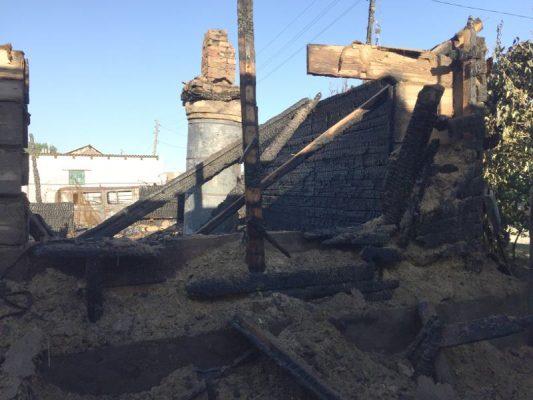 На месте трагедии (Отдел надзорной деятельности и профилактической работы по городу Камышину и Камышинскому району)