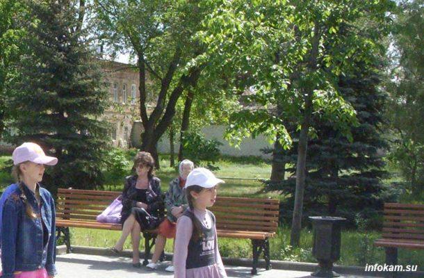 Камышин. Парк имени Комсомольцев-добровольцев