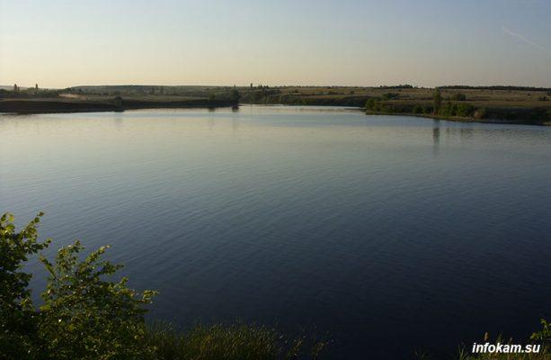 Волжский залив (20 километров от Камышина)