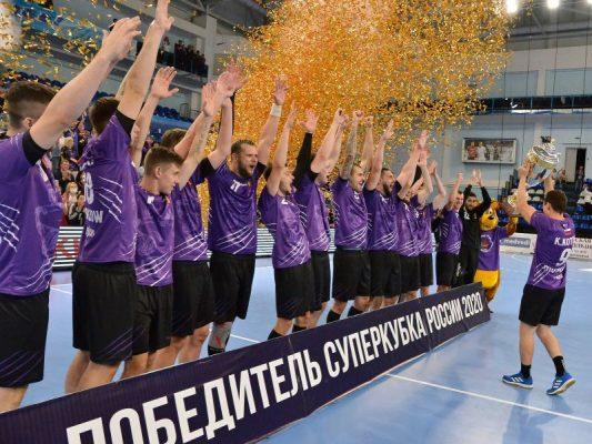 Кубок наш! ()Фото официального сайта ГК «Чеховские медведи»)