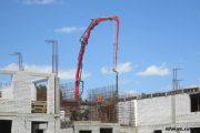 На строительстве нового детского сада в Камышине