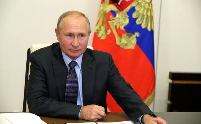 Владимир Путин (Фото kremlin.ru)