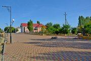 Реконструкция пешеходной зоны в Петровом Вале (Администрация Камышинского района)