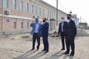 Инспекция улицы Октябрьской (пресс-служба администрации Камышина)