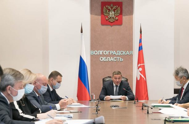 Еженедельное оперативное совещание (пресс-служба администрации Волгоградской области)