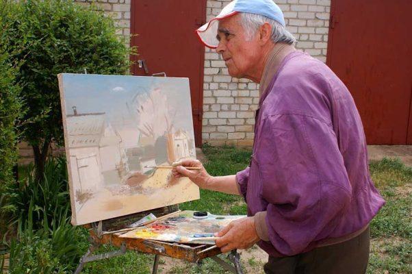 Петр Зверховский в Камышине