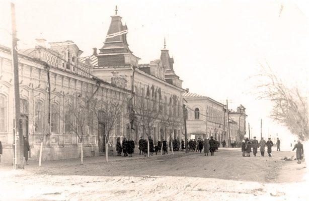 Камышин. Улица Октябрьская, 1950-е годы