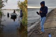 Экспедиция работает в районе Камышина (группа https://vk.com/rivershands)