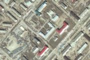 Территория ЦРБ г. Камышина (скриншот карты Гугл)