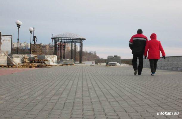 Камышин. Реконструкция набережной
