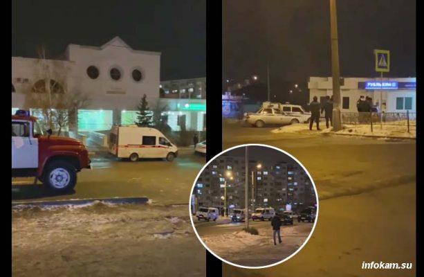 На месте происшествия (коллаж infokam.su)