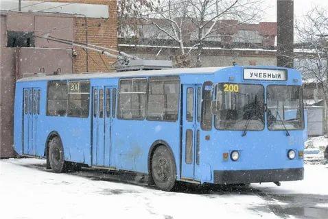 Камышинский троллейбус в Владимире (носили номера, начиная с 200-го)